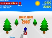 Sonic-snowboarding-game