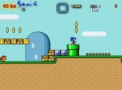 Sonic-in-mario-world